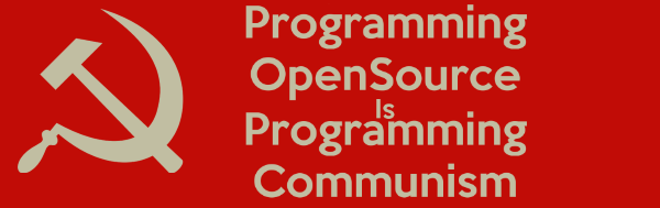 open source is commumism